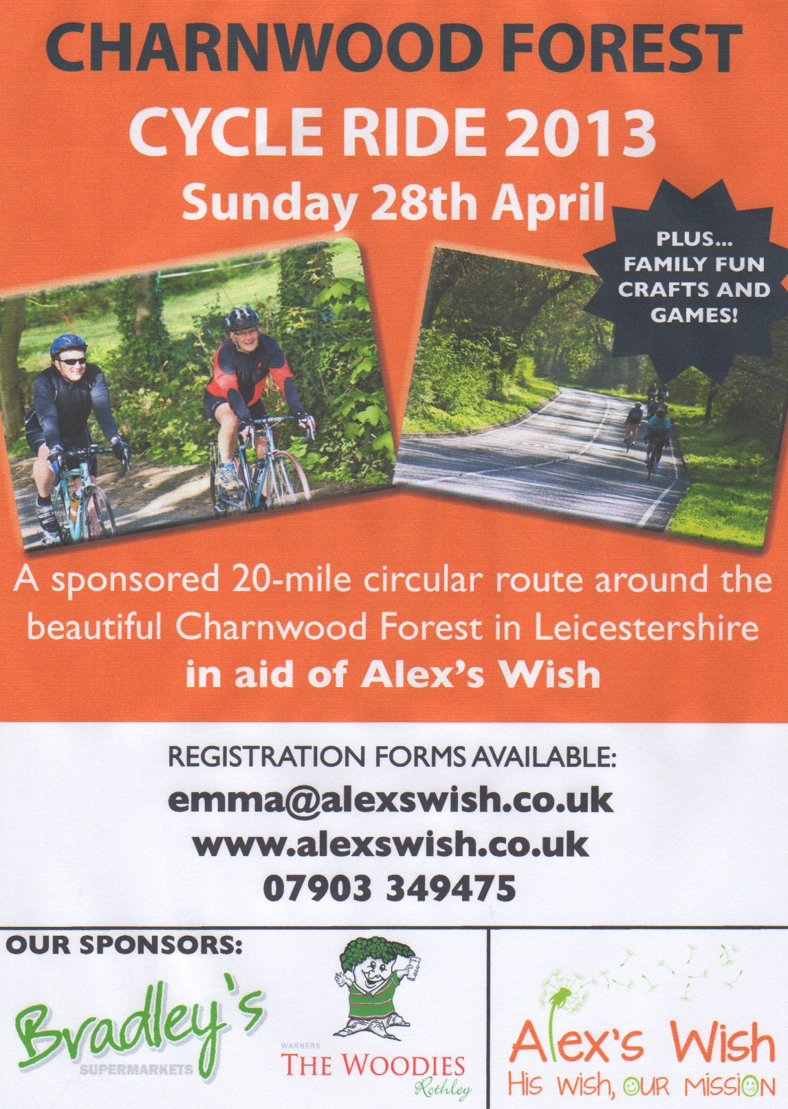 Charnwood Forest Cycle Ride 2013