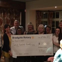 Bradgate Rotary raises £1,200