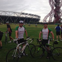 Prudential Ride London raises £10k