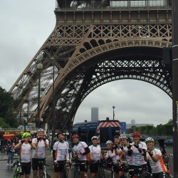 London to Paris Cycle Ride raises £25,000