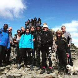 MAB TIME Mortgage Experts climb Snowdon for Alex