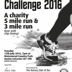 Watermead Challenge supports Alex