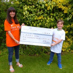 £500 donation from Dolphin Brewin